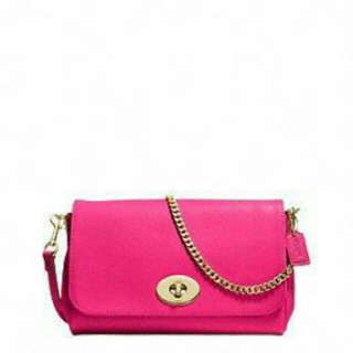 Authentic COACH Ruby Crossbody in crossgrain leather