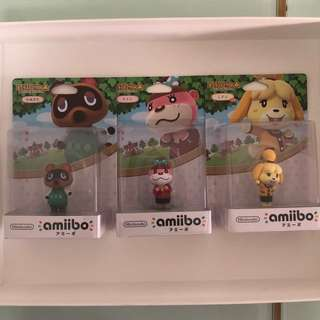 [BNIB] ANIMAL CROSSING AMIIBO