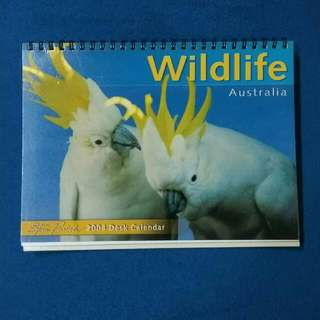 2004 Calendar Australia Wildlife