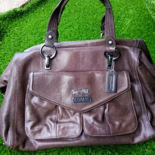 Authentic Coach Audrey large 2way bag(free perfume)