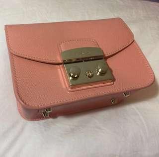 Furla Metropolis bag Peachy pink