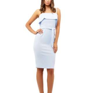 Worn once Kookai Light Blue Osteria Dress Size36