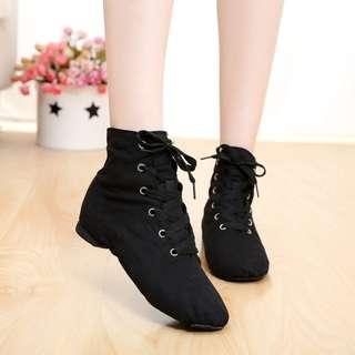 (pre-order) Cheap New  Women Sports Dancing Sneakers Jazz Dance Shoes Lace Up Dancing Boots Blue Red Black Tan Green White sneakers 5141
