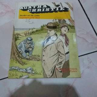 Komik 'Murder On The Links' Agatha Christie