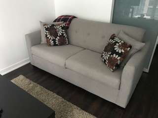 Sofa bed less than a year old!