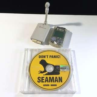Seaman - mic and vmu (Dreamcast)