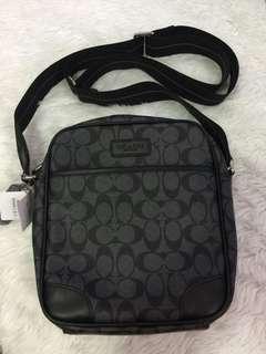 Coach authentic overruns sling bag