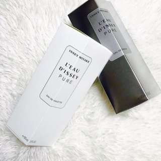 ISSEY MIYAKE PURE WHITE AND SILVER 😘