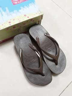Havaianas high brown