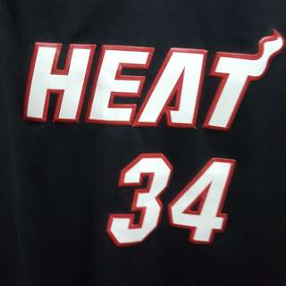Ray Allen Heat Black Alternate Jersey