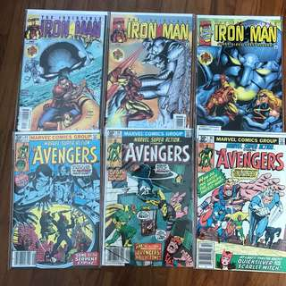Marvel Comics Iron Man Avengers