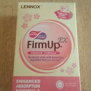 Lennox Firm up + Ex collagen drink