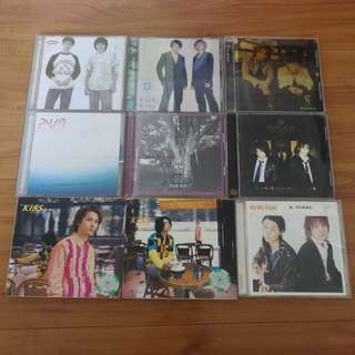 KinKi Kids Assorted CDs