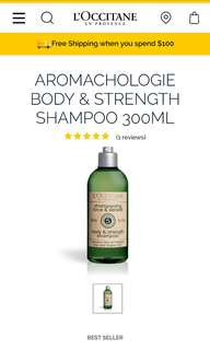 Loccitane Body & Strength Shampoo