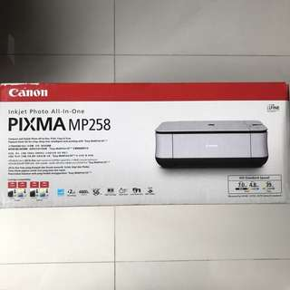 Canon Inkjet Photo All-In-One PIXMA MP 258 [New & Sealed]