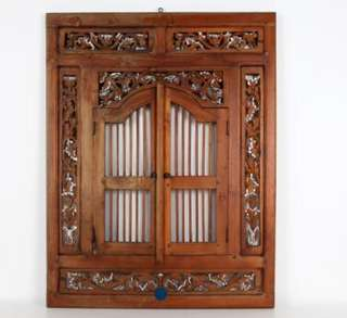 Vintage wooden shutter