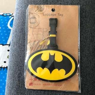 Brand new Batman luggage tag