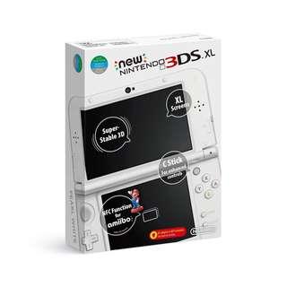 Pearl White 3DSXL
