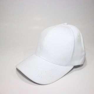 Topi Putih Polos Murah Pengait Cakop