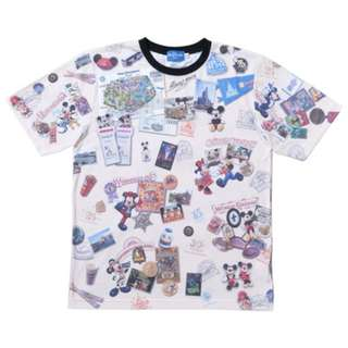 Tokyo Disneysea Disneyland Disney Resorts Sea Land 35th Anniversary Mickey Minnie Mouse T-Shirt Preorder