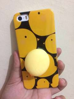 Squishy case yellow duck