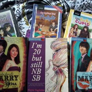 6 wattpads books for only 500 pesos
