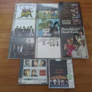 Arashi Assorted CDs and Convert VCDs