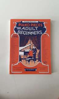 Piano Pieces for Adult Beginners by Amsco Music Publishing Co