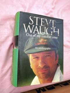 Steve Waugh: Out of my Comfort zone   Autobiography