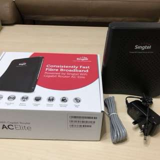 Singtel Wifi Gigabit AC Elite Router
