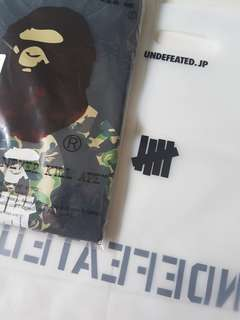 Bape T Shirt ( UNDEFEATED )