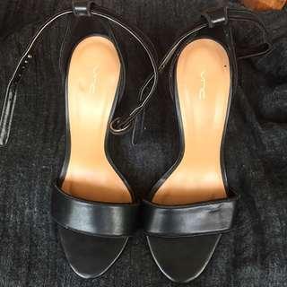 VNC Black Heels