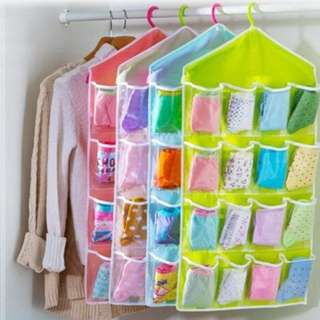 Korean Undewear Pouch 16 Slot Multifungsi