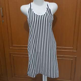 Stripe bodycon dress #123moveon