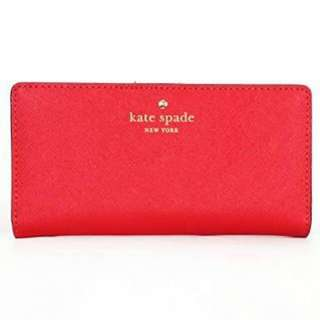 Kate Spade Stacy Wallet - Red