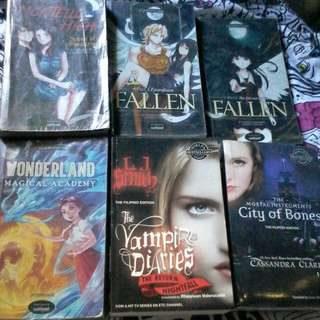 6 wattpad books for only 500 pesos