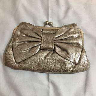 Aldo Ribbon Clutch Bag
