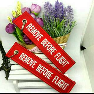 Remove Before Flight Aviation Keychain