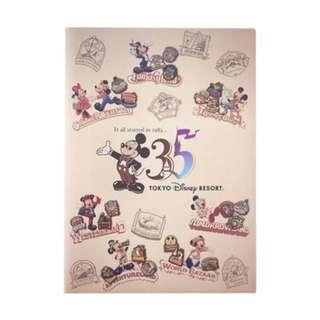 Tokyo Disneysea Disneyland Disney Resorts Sea Land 35th Anniversary Double Pocket Holder Preorder