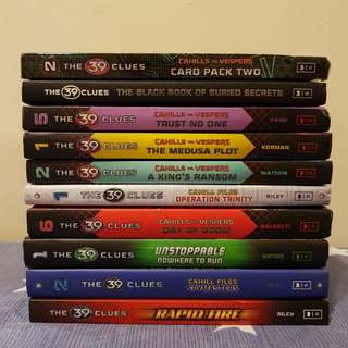 The 39 Clues Books (Bundle Sale)