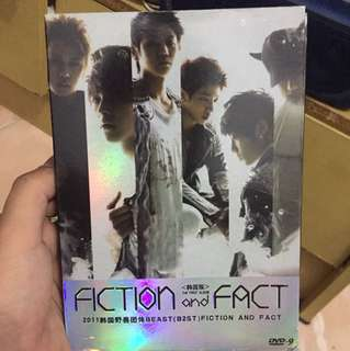 Beast B2ST 1st album action and fact original