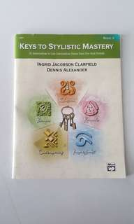 Keys to Stylistic Mastery Book 3