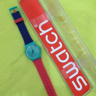 Watch by Swatch made by Swiss