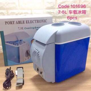 Portable electronic freezer