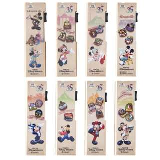 Tokyo Disneysea Disneyland Disney Resorts Sea Land 35th Anniversary Mechanical Pencil Replacement Core Set Preorder