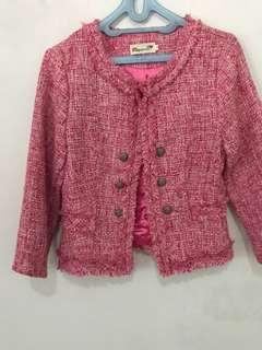 Megagamie Tweed Blazer size M