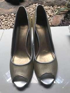 Gold Stilettos Party Heels