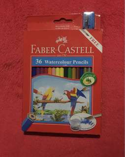 Faber Castell 36 Watercolour Pencils