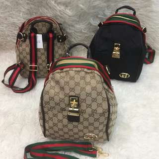 New Ransel gucci keong 2 in 1 Import
