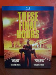 USA Blu Ray Slipcase - These Final Hours